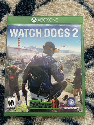 Watch Dogs 2 Xbox for Sale in Fairfax, VA