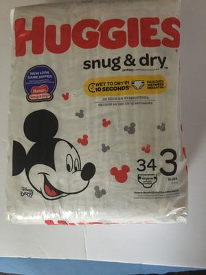 HUGGIES SNUG&DRY DIAPERS STAGE 3 for Sale in New Castle, DE