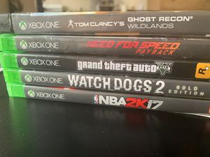 Xbox one games for Sale in San Francisco, CA