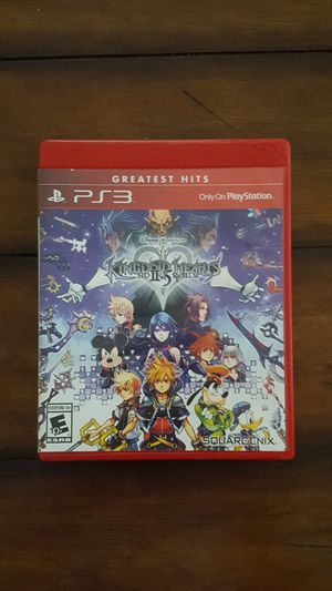 PS3 Kingdom Hearts II.5 2.5 remix for Sale in West Covina, CA