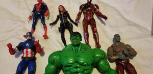 Marvel Avengers Action Figure Lot for Sale in Lorain, OH