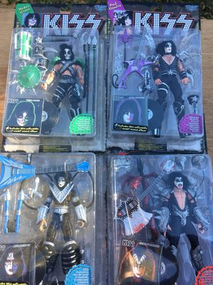 Kiss Action Figures Collectible Set for Sale in Tampa, FL