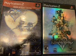 Kingdom Hearts ps2 games for Sale in Arlington Heights, IL