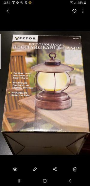 Indoor/Outdoor Rechargeable Lamp for Sale in Miami, FL
