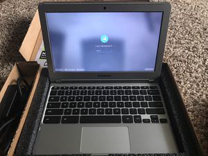 SAMSUNG CHROMEBOOK for Sale in Des Moines, IA