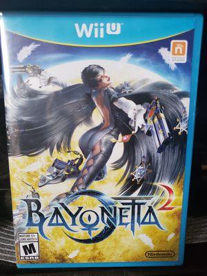 Nintendo Wii U - Bayonetta 2 for Sale in Queen Creek, AZ