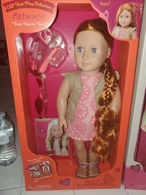 Our Generation Doll, NEW for Sale in Olivehurst, CA