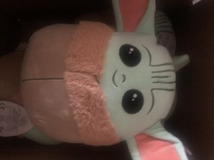 NEW Star Wars Baby Yoda 10 Inches Mandalorian The Child Squishmallow!! (1 plush) for Sale in Takoma Park, MD