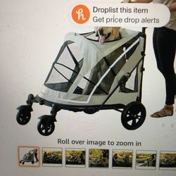 DOG STROLLER Large Dogs-Low Zipperless Entry for Sale in San Jose,  CA