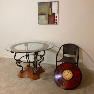 Tables, Chairs, Art Decor for Sale in Decatur, GA