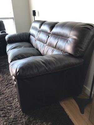 Espresso Brown Couch for Sale in Orlando, FL