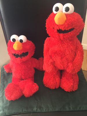 Two Tickle Me Elmo dolls for Sale in Lakewood, CO