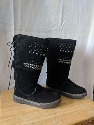 Bearpaw studded black suade Boots for Sale in San Francisco, CA