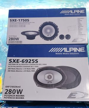 Alpine speaker components package brand new for Sale in Pomona, CA