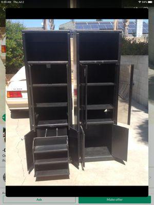 -Dark Black Cabinet- for Sale in Ontario, CA