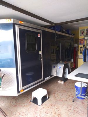 16 ft long x 7 foot wide sleeper No bathroom or shower. Interior height is 56 in from floor to ceiling high. for Sale in Alafaya, FL