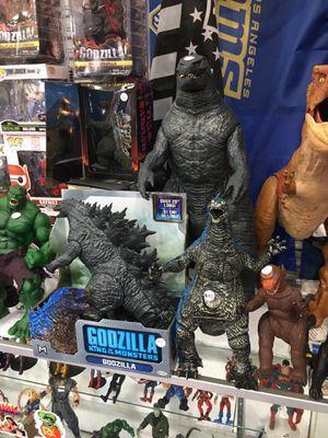 Goodzilla figures goodzilla toys NOT $1 read description for Sale in La Habra Heights, CA