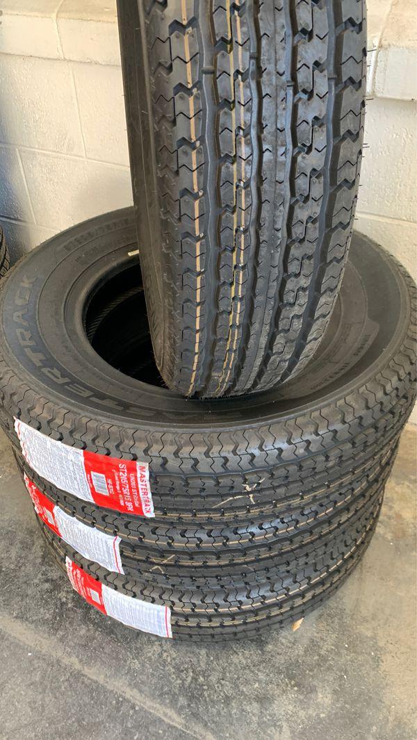 St 205/75/15 mastertrack trailer tires