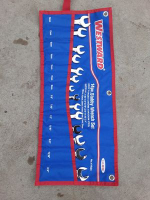14PC WESTWARD SAE METRIC STUBY WRENCH SET for Sale in Los Angeles, CA
