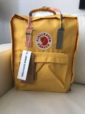 Fjallraven kanken Backpack yellow classic for Sale in Miami Beach, FL