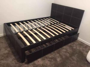 🎉Brand New Full Size Trundle Bed Frame Only $279, No Credit Needed Finance for Sale in Elk Grove, CA