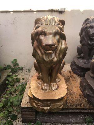 Concrete lion for Sale in Miami, FL
