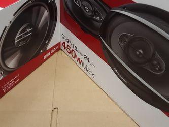 PIONEER 1 pair 6.5 inch 2 way 300 watts & 1 Pair 6×9 4 Way 450 Watts Car Speakers for Sale in South Gate,  CA