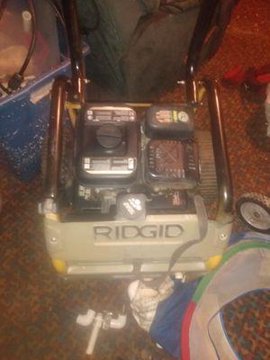 Ridgid 3200 psi pressure washer for Sale in Merced, CA