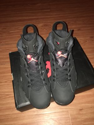 Jordan 6 Retro Black Infrared for Sale in St. Petersburg, FL