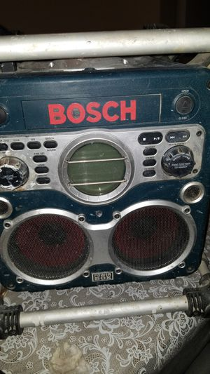 Bosch radio for Sale in Gilroy, CA