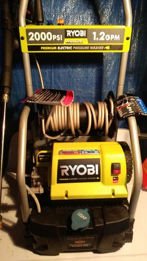 Ryobi 2000psi electric pressure washer for Sale in Medford, MA
