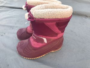 Kids girl size 12 Columbia Snow Winter Boots for Sale in Chula Vista, CA