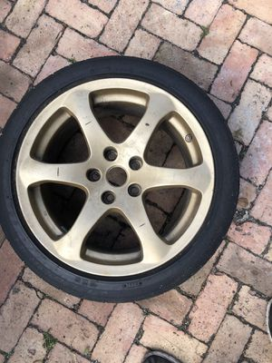 Infinity g35 coupe rear pair wheels rims for Sale in Miami, FL