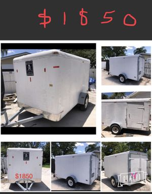 TRAILER 6x10 GREAT CONDITION. $1850. Title in Hand for Sale in Miami, FL