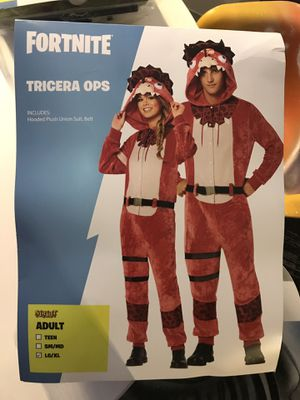 Tricera Ops Fortnight Halloween Costume for Sale in Southfield, MI