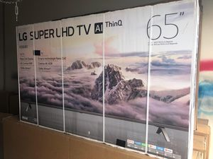 """65"""" LG 65SK8000AUB 4K UHD HDR NANO CELL SMART TV 240 MR 2160P (FREE DELIVERY) for Sale in Lakewood, WA"""