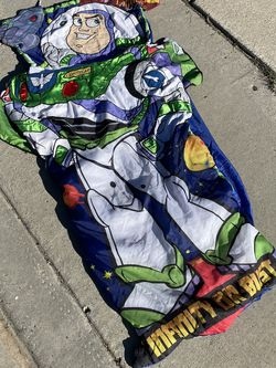 Buzz Lightyear Toy Story Sleeping Bag for Sale in San Diego,  CA