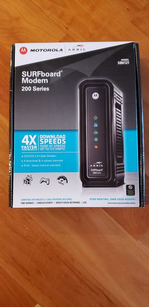 Modem and wireless router for Sale in San Diego, CA