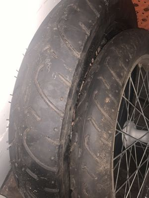 Dirtbike tires and wheel for Sale in Buckley, WA