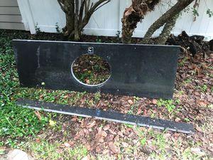 """72"""" granite countertop and backsplash for Sale in Tampa, FL"""