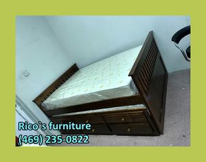 New full bed with trundle for for Sale in Sunnyvale, TX