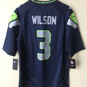 NEW NFL Seahawks Wilson Jersey - Medium for Sale in North Bend, WA