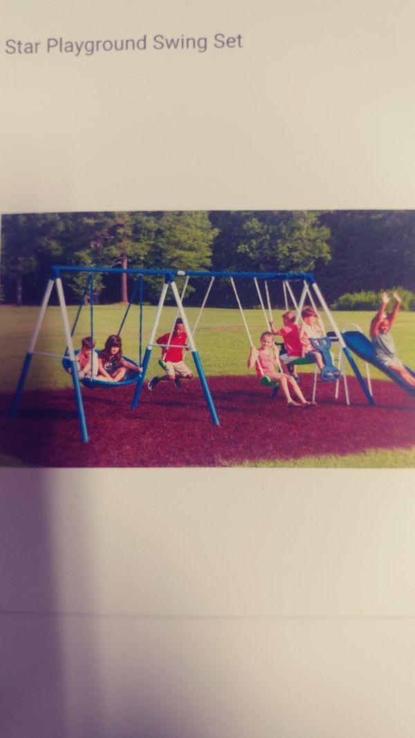 Xpd playground swing set