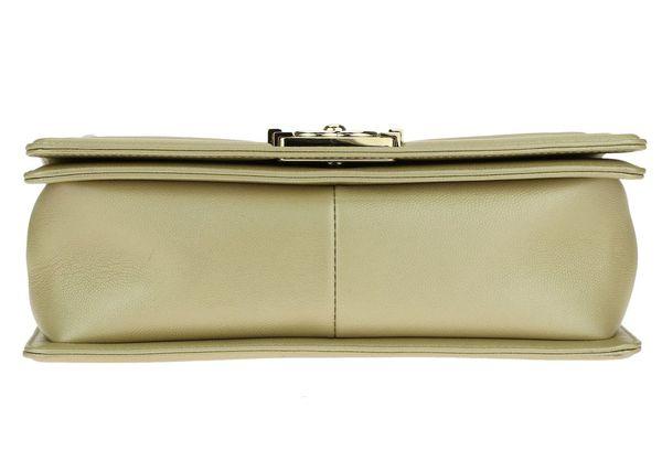 Chanel boy handbag gold