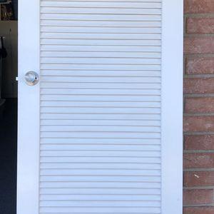 Solid Wood Door with slats for Sale in Costa Mesa, CA