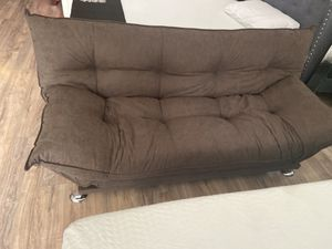 Chocalate plush futon🎈🎈🎈🎈🚚 for Sale in Fresno, CA