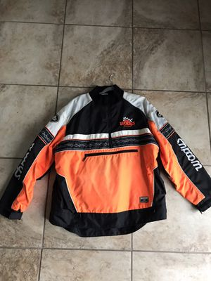 Rare choko team issued woodys snowmobile jacket XL used skidoo for Sale in Warren, MI