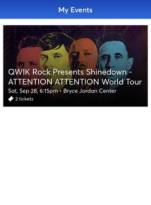 Shinedown Concert Tickets for Sale in York, PA