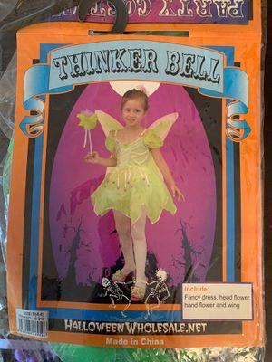 Halloween Girls Tinkerbell Costume for Sale in La Puente, CA