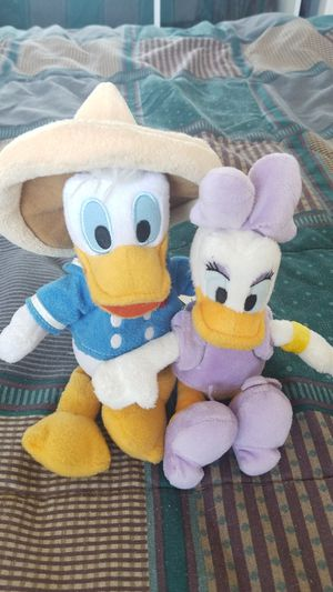 Disney Mini Plush Donald n Daisy for Sale in Elk Grove, CA